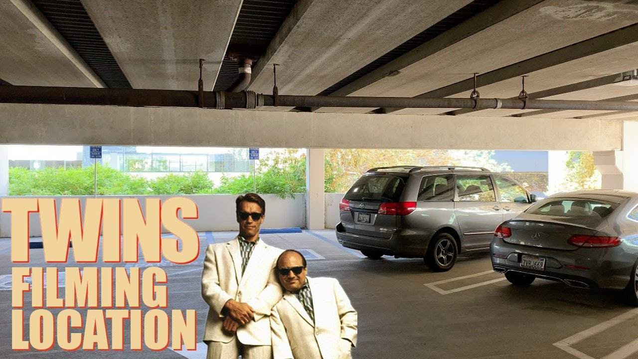 Twins 1988 Filming Location Parking Garage Inside And Outside Youtube