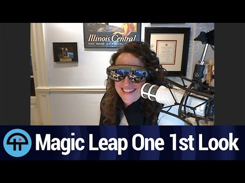 Magic Leap One First Look: A Peek into the Future
