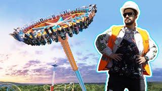 Así se construyó  el JUEGO MECÁNICO más impactante de Six Flags