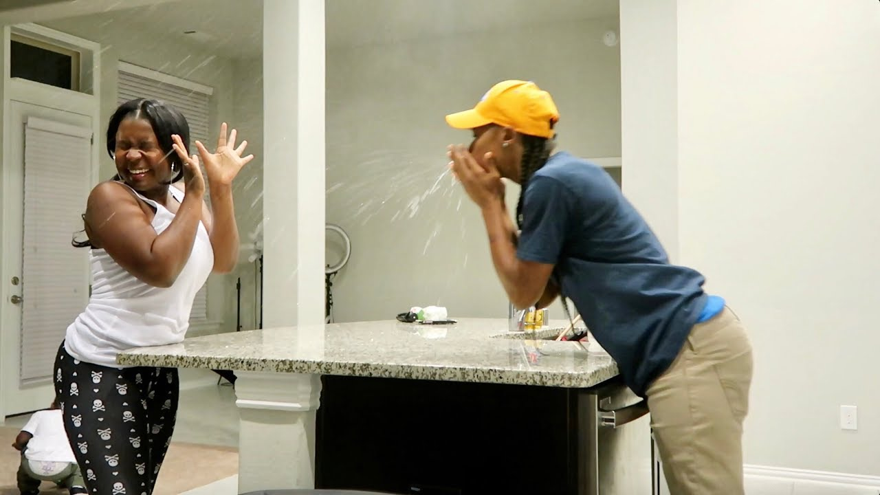 EXTREME 'SNEEZING ON YOU' PRANK!!!