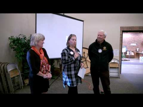 Michelle Lasswell, Shelly Cole, and Barry Carlson  October 13, 2016