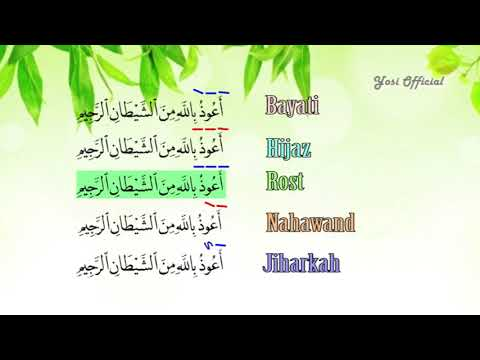 Cara Belajar Membaca AL-QUR'AN Dengan Irama (Langgam) - Irama Murottal Bayati.