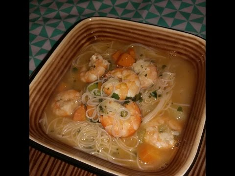 soupe-aux-crevettes-legère