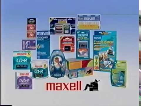 Maxell dry-type VHS head cleaning tape