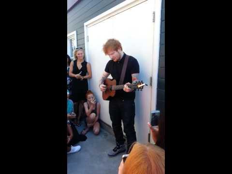 Ed Sheeran Drunk - Seattle 8/31/13