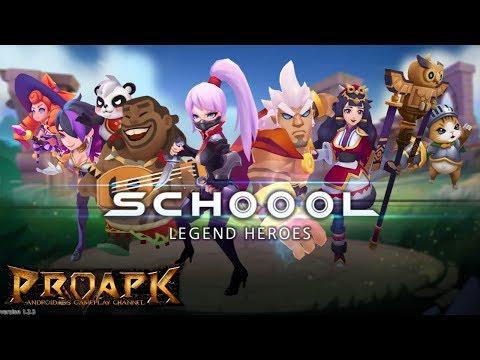School: Legend Heroes Gameplay Android / iOS (KR)