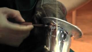2009楽器フェア #06 ヤナギサワサクソフォーン手彫り実演