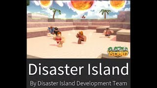 Roblox: Having Fun on Disaster Island!