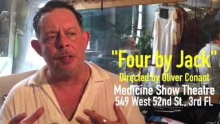 Actor Felix Gardon talks about the work of Jack Agüeros