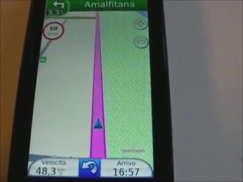 Demo Garmin Mobile xt   6.00.10  Nokia 5800