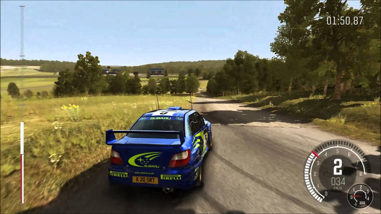 dirt rally deutschland gameplay subaru pc 1080p. Black Bedroom Furniture Sets. Home Design Ideas