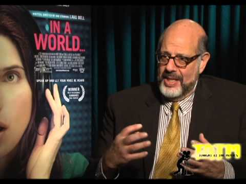 "Exclusive interview: Fred Melamed talks ""In A World"" And Shares How He Creates A Character"