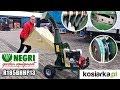 NEGRI R185BHHP13 bio shredder review   Honda GX390  made in Italy
