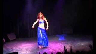 Gal Shimron belly dance.