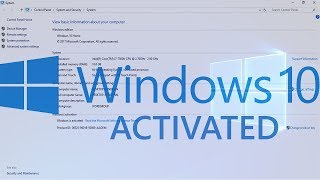 How To Activate Windows 10 permanently 2018
