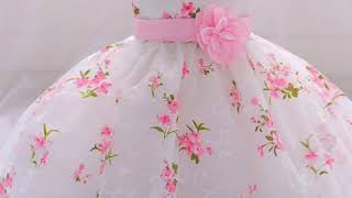Party wear baby frock designing