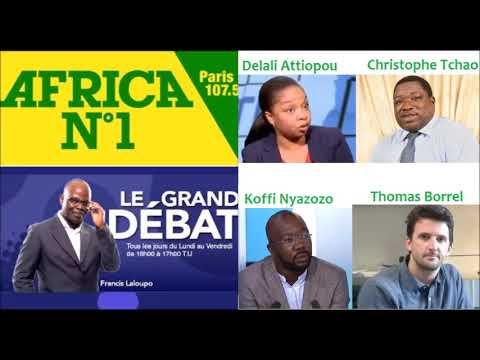 Le Grand Débat Africa N°1: Togo, Etat d'alerte! Invités:D. Attiopou, K. Nyazozo, C. Tchao, T. Borrel