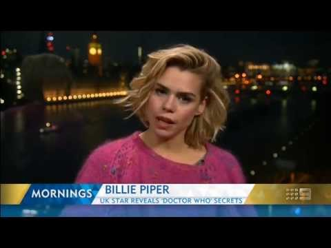 Billie Piper - Mornings interview for Ozcomic-Con 2015