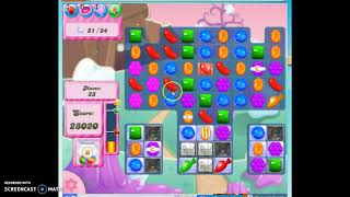 Candy Crush Level 346 Audio Talkthrough, 3 Stars 0 Boosters