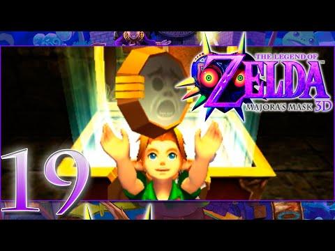 Zelda Majoras Mask 3D | #19| Escudo Espejo | INTERCAMBIOS|Español | 60 FPS