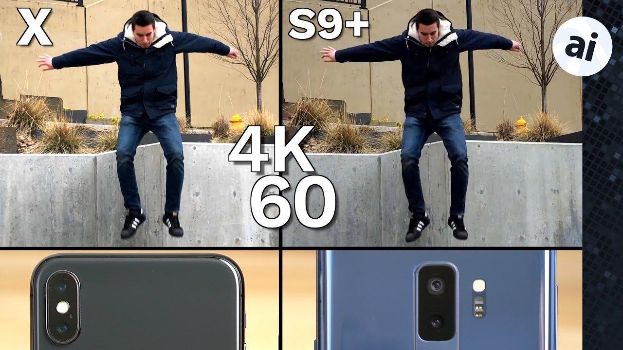 Iphone 7 Plus Vs S9 Video Grabacion