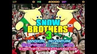 En Vivo de Jueves por la Noche Jugando Juegos Arcade Snow Bros 3 KOF 2002  X men vs Street Fighter