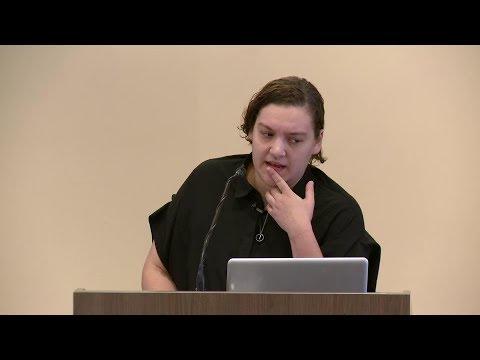 Elle Pérez speaks at 2017 Gender & Work Symposium: Images, Identities, and the Space(s) Between