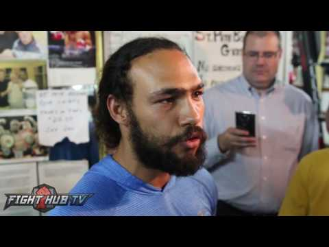 """Keith Thurman on Mayweather """"The old man is old..I'm ready for him to be history!"""""""