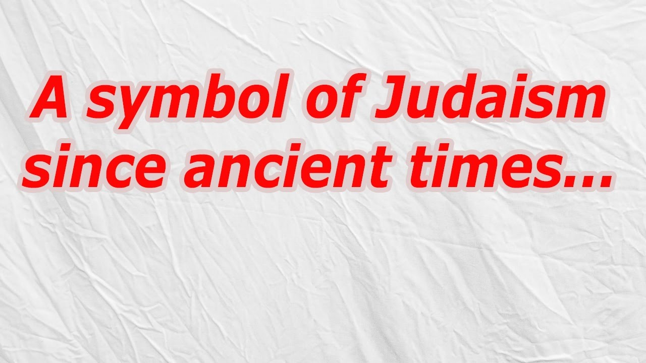 A symbol of judaism since ancient times codycross crossword a symbol of judaism since ancient times codycross crossword answer biocorpaavc Choice Image