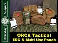 EDC & Multi Use Pouch by ORCA Tactical, Video Review