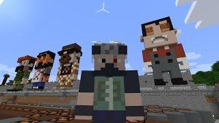 Etho MindCrack SMP - Episode 162: Statue Building