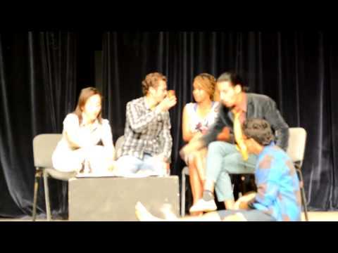 part 03 pièce théâtral de l'Institut des Arts Dramatiques.