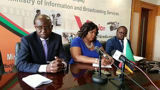 Amos Chanda and Dora Siliya Full Press Briefing