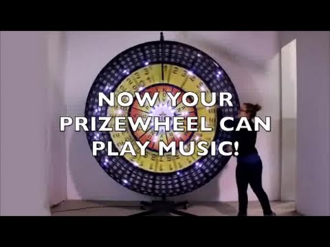 Add Sound to Your Prize Wheel with Our Sound Unit (Commercial)