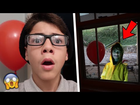 GEORGIE (FROM IT MOVIE) BROKE INTO MY HOUSE!!