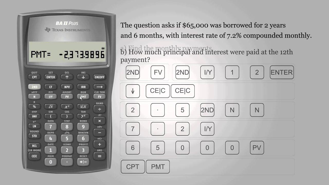 amortise calculator