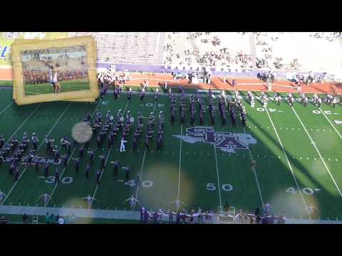 Stephen F Austin State University  Lumberjack Marching Band -  Year In Review
