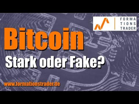 Bitcoin: Stark oder Fake?