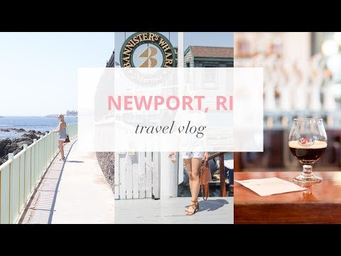 Newport, Rhode Island Travel Vlog