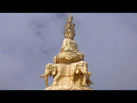 Emei Shan Sacred Mountain, Sichuan, China in 4K (Ultra HD)