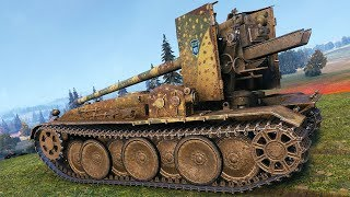 Grille 15 - GERMAN SNIPER - World of Tanks Gameplay