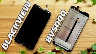 ЖК-дисплей и сенсорный экран или тачскрин (touch screen) для смартфона BlackView BV5000. Aliexpress(, 2016-06-23T19:25:15.000Z)