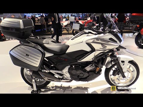 2017 Honda NC750X DCT Travel Edition - Walkaround - 2016 EICMA Milan