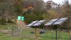 Solar-Powered Water Systems for Grazing Operations