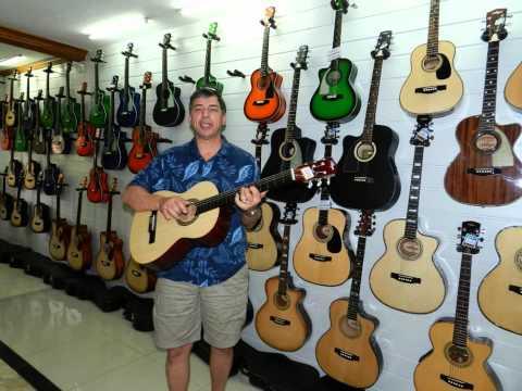 Alegre Guitar Factory in Lapu Lapu City, Cebu, Philippines