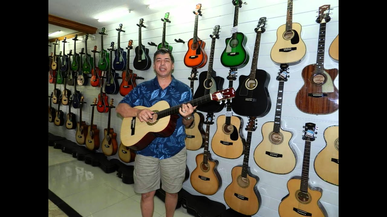 Chinese Guitar Factory Tour
