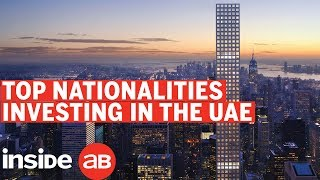 What are the top nationalities investing in the UAE
