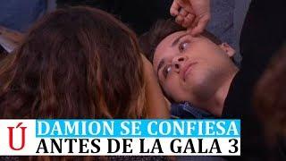 Damion se confiesa tras derrumbarse antes de la Gala 3 de Operación Triunfo 2018 -  OT 2018