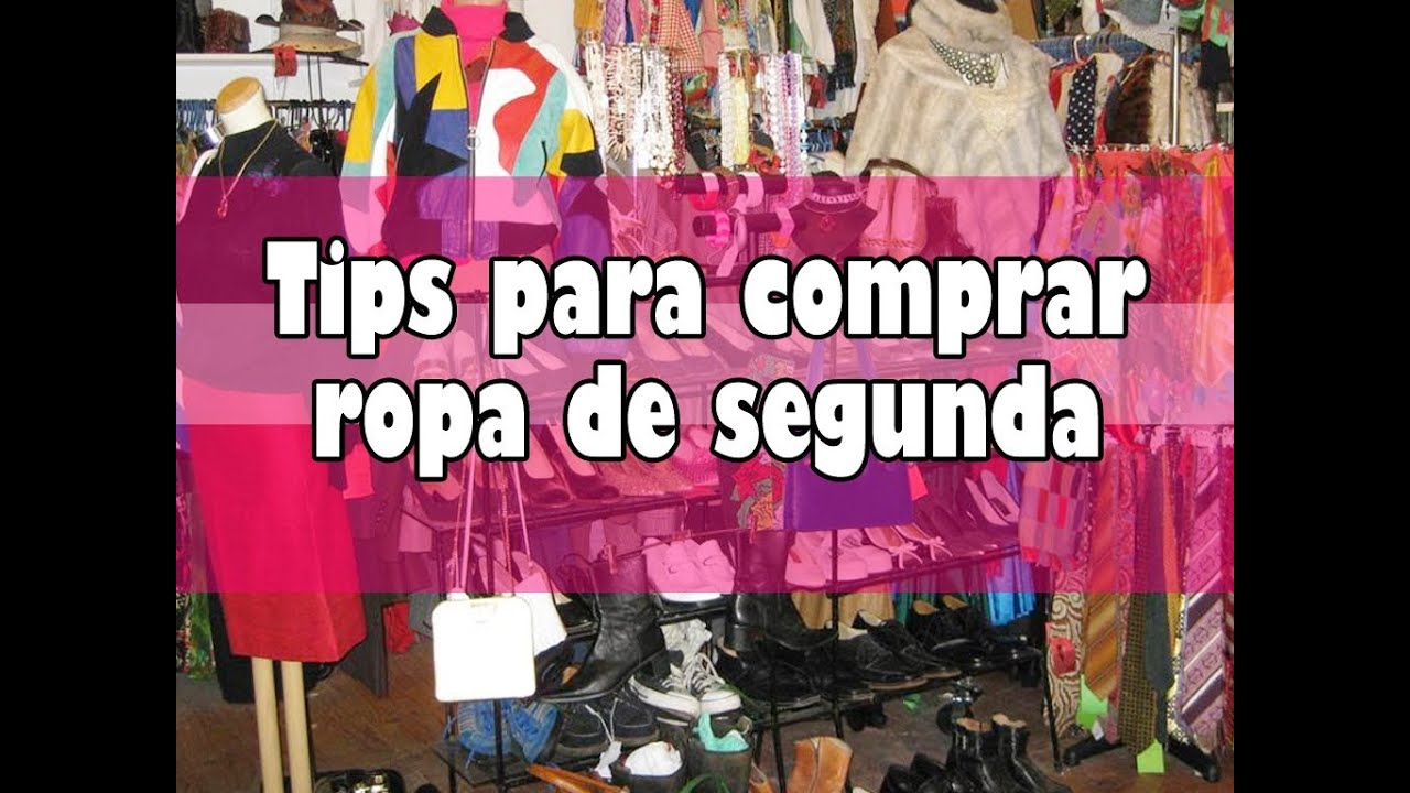 ♥ ¡¡Tips para comprar ropa de segunda!! ♥ - YouTube