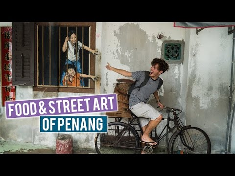 Penang's Food & Street Art